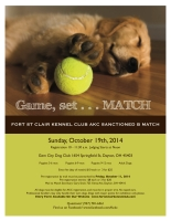 2014 FSCKC Match Flyer